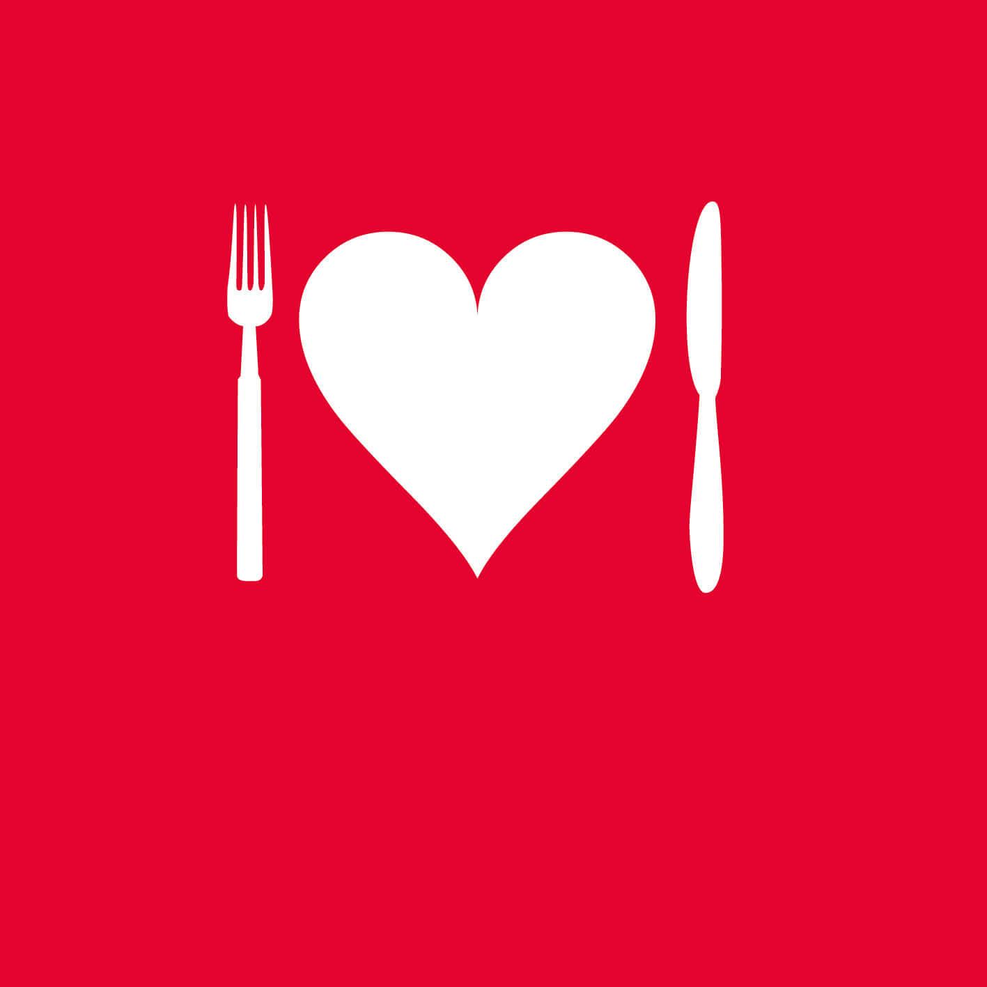 støt det kærlige måltid og syge mennesker